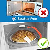 Microwave Splatter Cover, Microwave Cover for Food