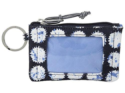 Vera Bradley Lighten up Zip ID Case, Polyester, Splash Dot