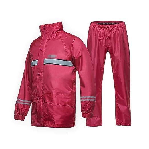 GONGFF Raincoat - Traje de Lluvia para Adultos, Reflectante ...