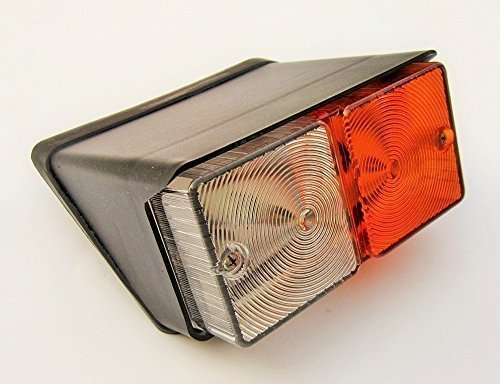 12V Front Side Indicator Flasher Lamp Front mudguard Light for Ford Tractors: