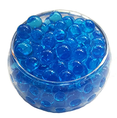 LEFV trade; Water Gel Crystal Soil Beads Growing Jelly Ball Decoration Vase Filler for Home Wedding Holidays Decor -