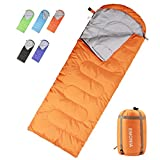 sleeping bag - Emonia Camping Sleeping Bag,Three Season.Waterproof Outdoor Hiking Backpacking Sleeping Bag Perfect for Traveling,Lightweight Portable Envelope Sleeping Bags for Adults,Girls and Boys