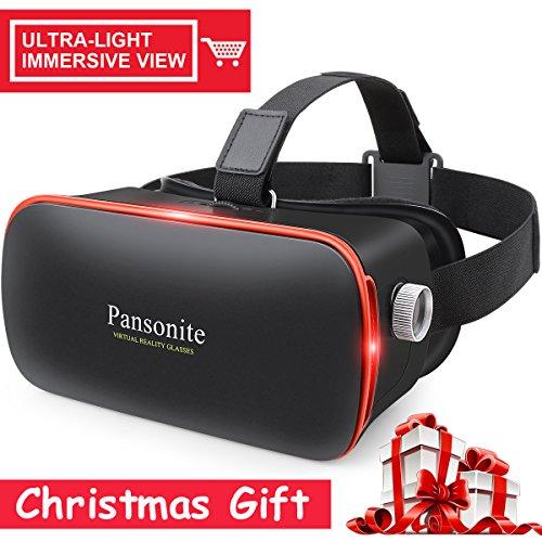Virtual Reality 3D Private Cinema for Cellphone (Black) - 1