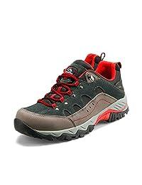 Clorts Men's Waterproof Lightweight Hiking Shoe Outdoor Sport Casual Daily Sneakers HKL815