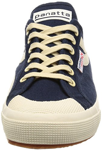 Basses Superga Panatta Navy Adulte Mixte Baskets 903 ecru 2750 cotu rAAHaq4I