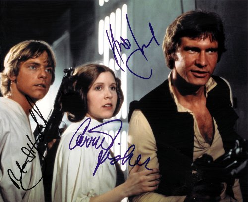 Star Wars Cast Signed Autographed 8 X 10 Reprint Photo #8 - Mint (Real Signed Autograph)