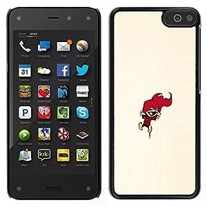 Caucho caso de Shell duro de la cubierta de accesorios de protección BY RAYDREAMMM - Amazon Fire Phone - Calvin Encimera