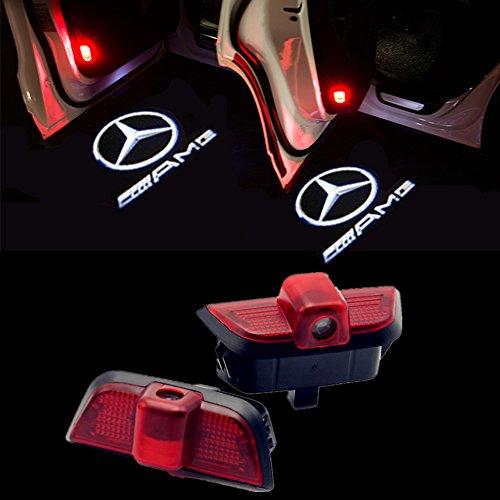 HUAYIN Set of 2 Car Door LED Logo Door Lighting Entry Light Projection Light