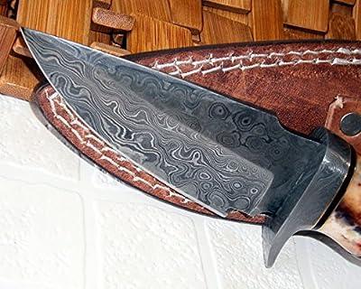 Custom Handmade Damascus Steel knife (59-40)