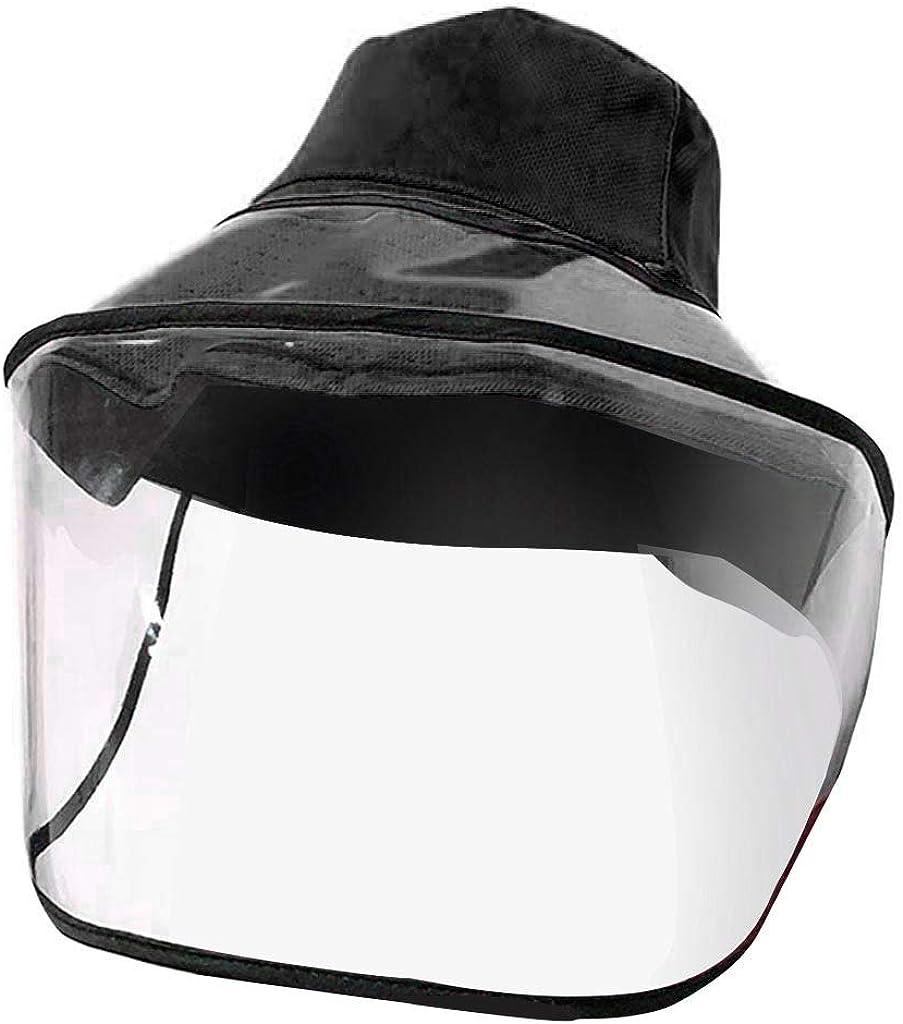 Sumen Removable Protective Cap Anti-Fog hat Anti-Ultraviolet Isolation Mask Sun Hat
