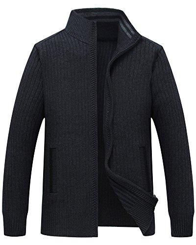 Zipper Cardigan Jacket - 9