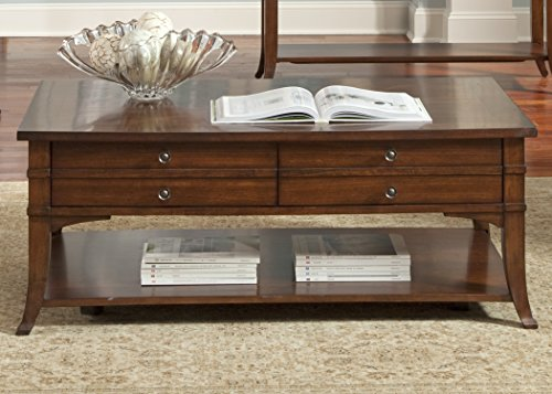 Liberty Furniture Keystone Cocktail Table (Upholstered Hutch Set)