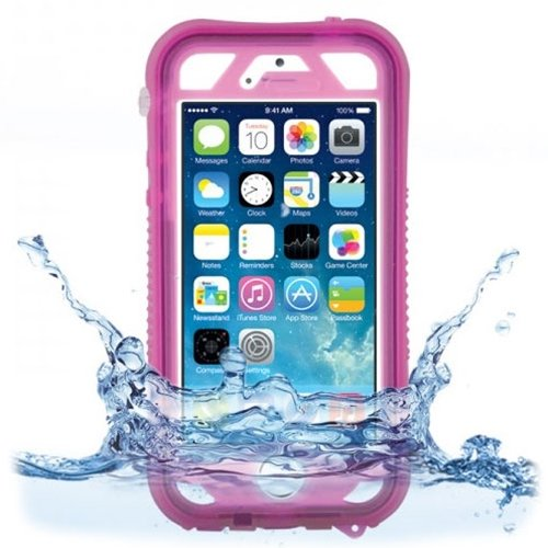 Naztech 12849 Vault+ iPhone 5/5S Waterproof Protective Cell Phone Case w/ Touch ID - Pink