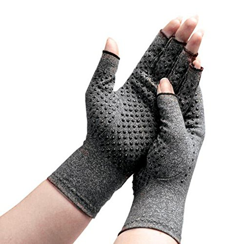 Men Women Open Finger Compression Arthritis Gloves Grip For Joint Pain Relief(two - Men's Styles Different
