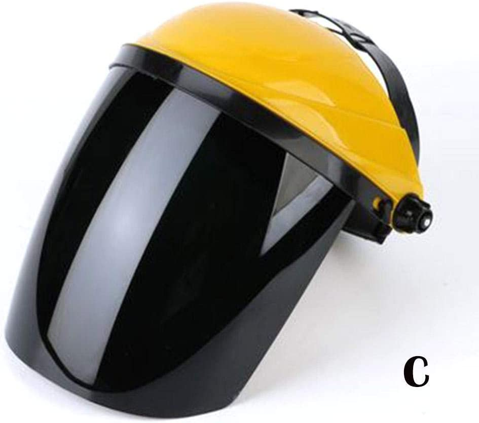 Lightweight Multi-Using Protective Mask Head-Mounted Yellow Eye Protection Explosion-Proof Anti-Impact Welding Mask