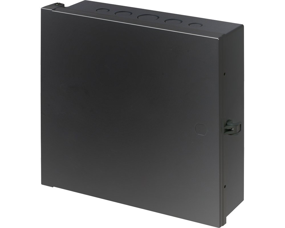 Arlington Industries EB1212BL-1 Electronic Equipment Enclosure Box (Pack of 1), 12'' x 12'' x 4'', Black