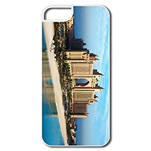 IPhone 5 5S Cover, Atlantis Dubai Cases For IPhone 5 - White Hard Plastic