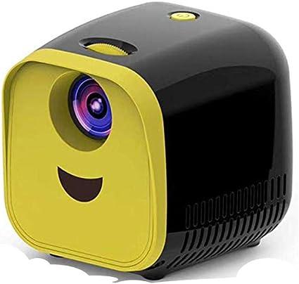 Mini proyector LED con batería recargable: compatible con 1080p HD ...