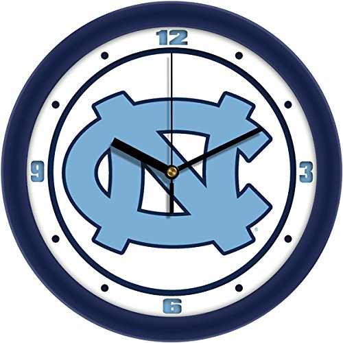 NCAA North Carolina University Of Traditional Wall Clock - Crystal Football Clock