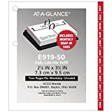 at-A-Glance Daily Desk Calendar Refill, January 2019 - December 2019, 3'' x 3-3/4'', Loose Leaf, Compact Size (E91950)