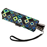 ShedRain Umbrellas Super Slim Mini Auto Open And Close Umbrella (One Size, Lanika)