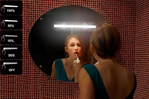 LED Mirror Lights, Portable Vanity lights | Simulated Daylight | 4 Brightness Level Touch Control | Rechargeable,Cordless Makeup Lights. by BESTCAN (Image #1)