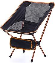 Gehannah Portable Camping Chair - Compact Lightweight Folding Backpacking Chairs, Camping Folding Chairs Beach
