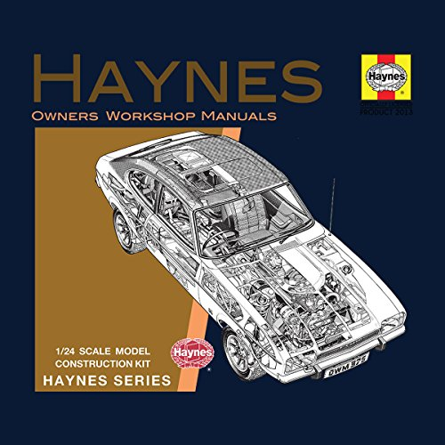 Haynes Owners Workshop Manual 0375 Ford Capri II V6 Women's Vest Navy blue