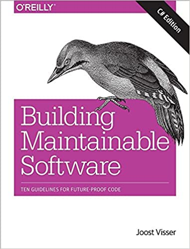 Book Building Maintainable Software: Ten Guidelines for Future-Proof Code