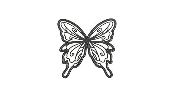 Darice Die Cut Stainglass Butterfly