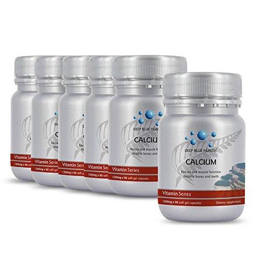 Deep Blue Health Liquid Calcium (90 Caps) New Zealand Buy 5 get 1 FREE! by Deep Blue Health