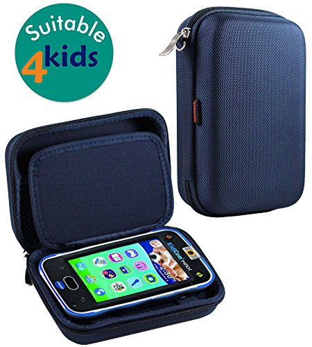 Navitech Black Premium Travel Hard Carry Case Cover Sleeve For The Vtech Kidibuzz