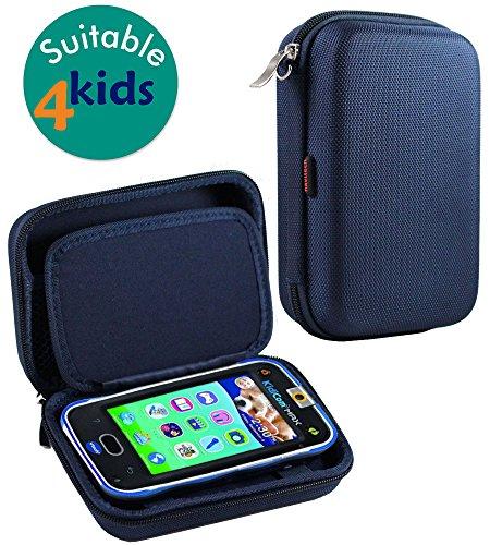 Navitech Blue Premium Travel Hard Carry Case Cover Sleeve for The Vtech Kidibuzz