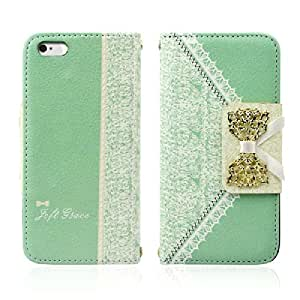 Amcctvshop Fresh Cute Flip Wallet Leather Case Cover (iPhone 4S)