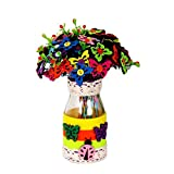 East Majik DIY Craft Meterial PackHome Decor Can Make About 40 Flowers Set of 2