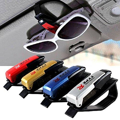 UNAKIM--Sun Visor Sunglasses Eye Glasses Card Pen Holder Clip Car Vehicle - Eyeglasses Insurance Without
