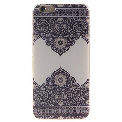 "Hülle iPhone 6 / iPhone 6S , LH Diagonale Totem TPU Weich Muschel Tasche Schutzhülle Silikon Handyhülle Schale Cover Case Gehäuse für Apple iPhone 6 / iPhone 6S 4.7"""