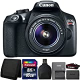 Canon EOS Rebel T6 18MP DSLR Camera with 18-55mm Lens and Accessory Kit