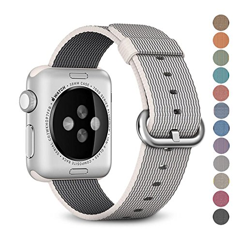 Woven Nylon Replacement Band for the Apple Watch by Pantheon, Women's or...