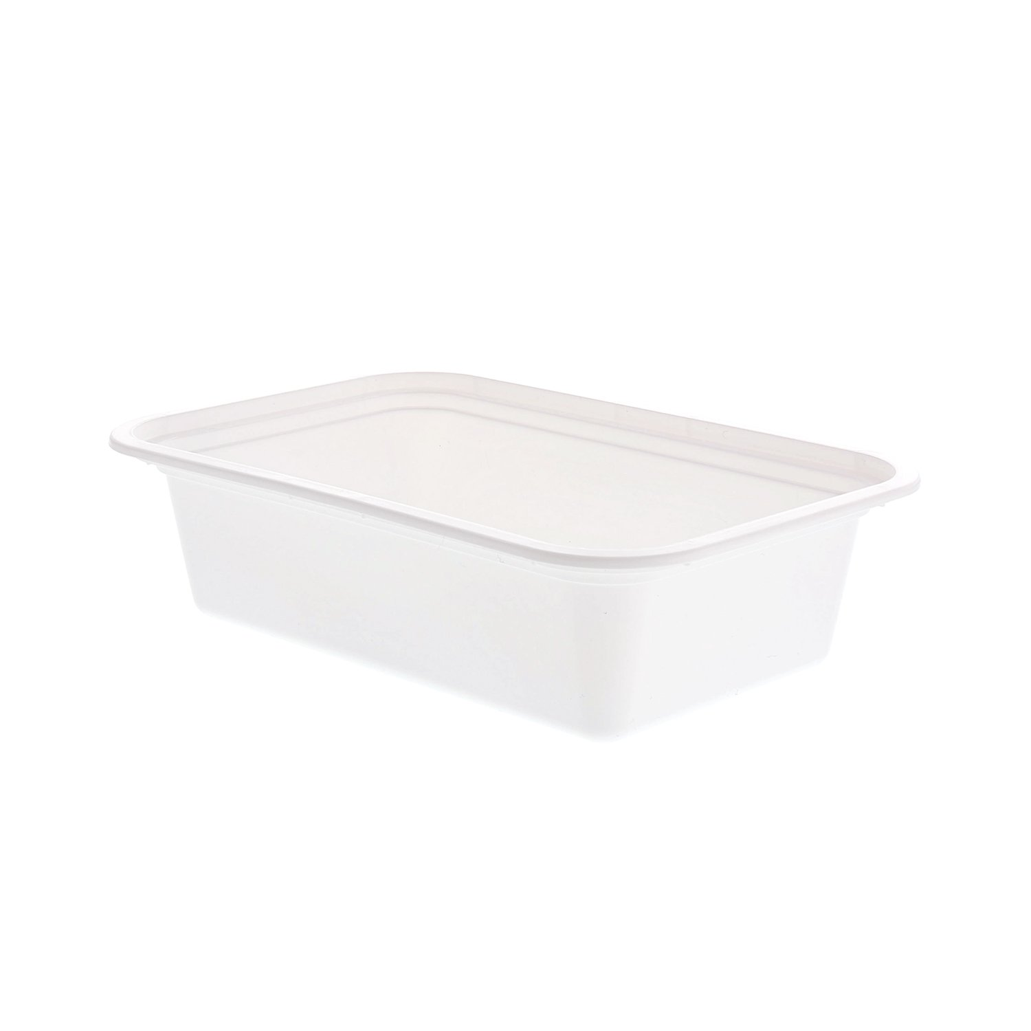 18 cm x 13 cm White Container, 5 cm Deep, 710 ml Case of 150 ...