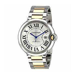 Cartier Ballon Bleu Automatic Silver Dial Mens Watch W2BB0022