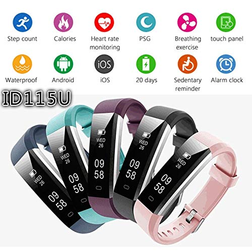 (Smart Band TalkBand Bluetooth Headset Earphone Smart Bracelet Wristband Waterproof Fitness Tracker for iOS Android Phone)