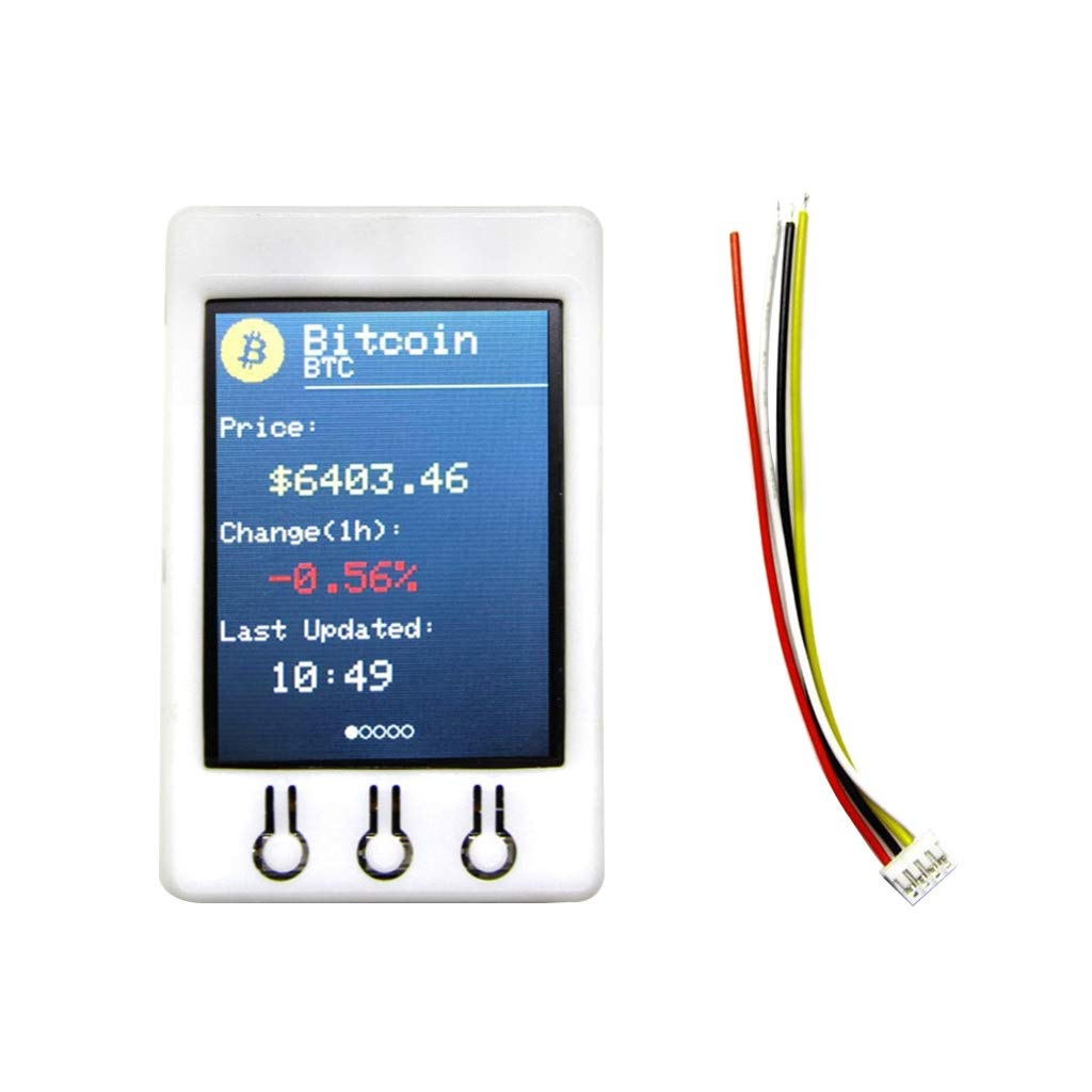 Amazon com: B Blesiya LCD Display Module for BTC Price