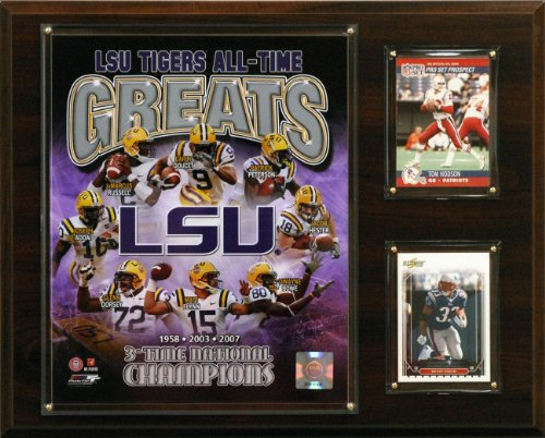 NCAA Football LSU Tigers All-Time Greats Photo Plaque