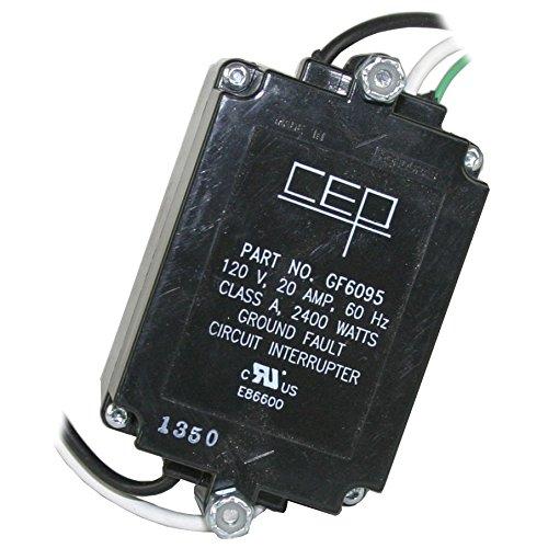 CEP GF6095 20-Amp 120-Volt UL Listed Panel Module Circuit Breakers, 5-Pack