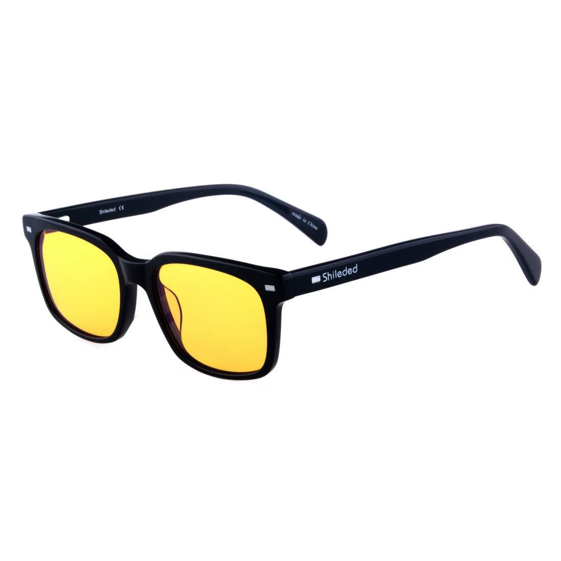 d2fa2831a705e Amazon.com  Shileded Computer Blue Light Blocking Glassess Better Sleep   Health   Personal Care