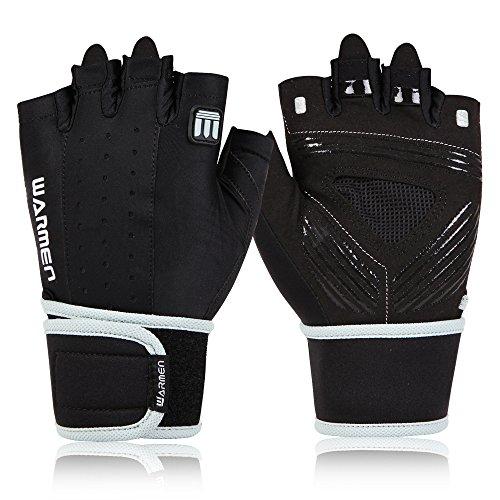 WARMEN Wrist Support Weightlifting Gloves