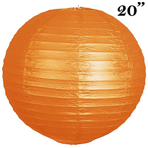 Efavormart-20-Paper-Chinese-Lantern-Lamp-Shade-Hanging-Party-Event-Decor-Set-Orange-12-PCS