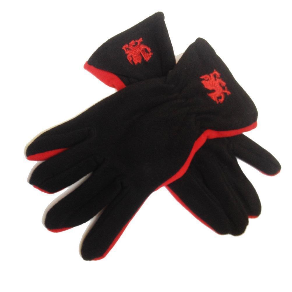 Wales Welsh Dragon Fleece Gloves [wa143]