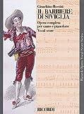 Il barbiere di Siviglia: Vocal Score (Ricordi Opera Vocal Score)